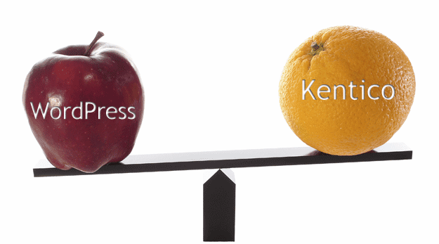 Top 8 reasons to use Kentico rather than Wordpress Blog Post