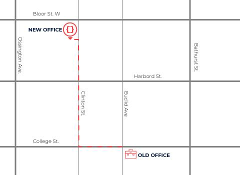 Inorbital office map