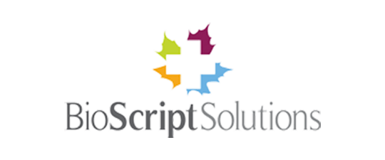 Bioscript solutions website Design and strategy