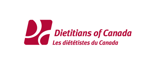 Dietitians of Canada website design project