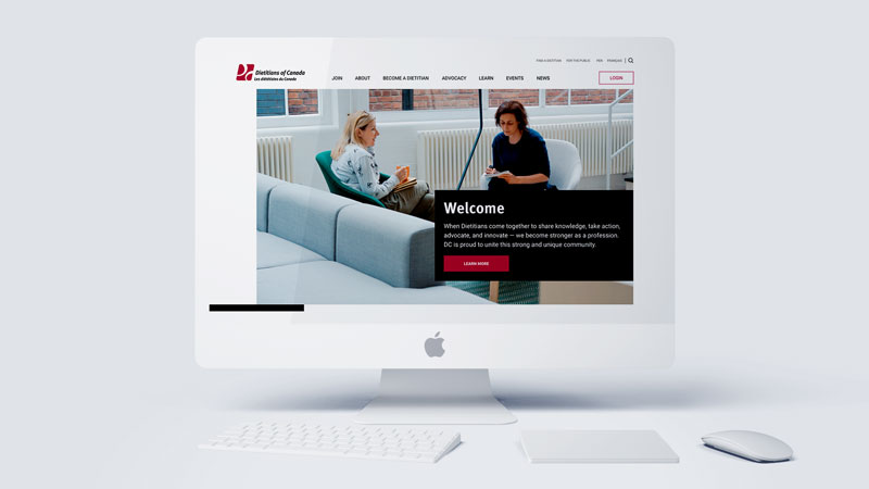Preview of Dietitians of Canada Site