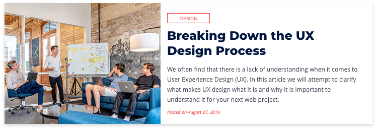Breaking Down the UX Design Process