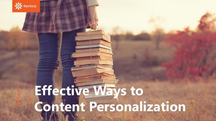 Content Personalization with Kentico blog post image